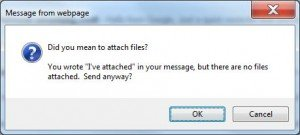 Gmail Forgotten Attachment Reminder