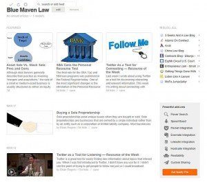 Blue Maven Law blog RSS feed